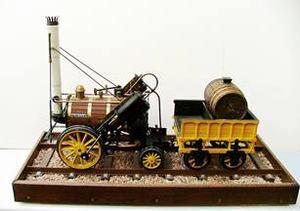 Miniatuur stoommachine