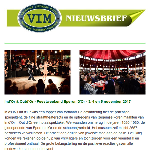 VIM Nieuwsbrief 16