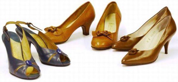 Retro schoenen Moda Actavia