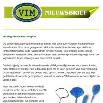 VIM Nieuwsbrief 17