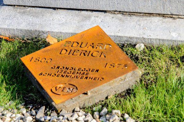 Herinneringsplaat Eduard Dierick