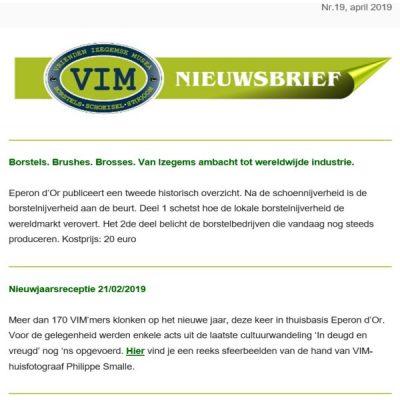 VIM Nieuwsbrief 19